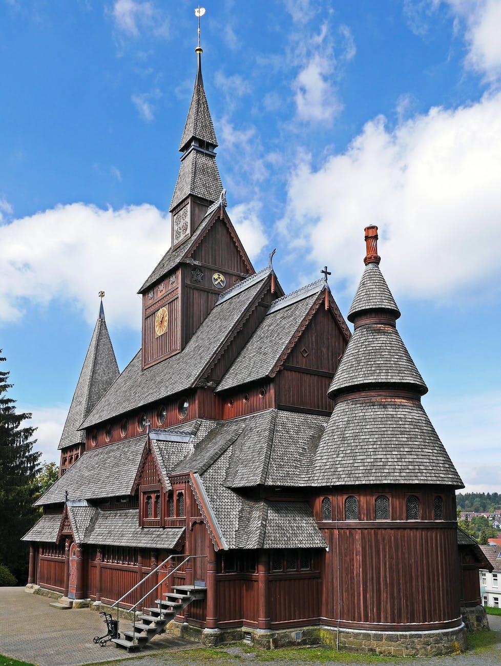 ancient architecture building church