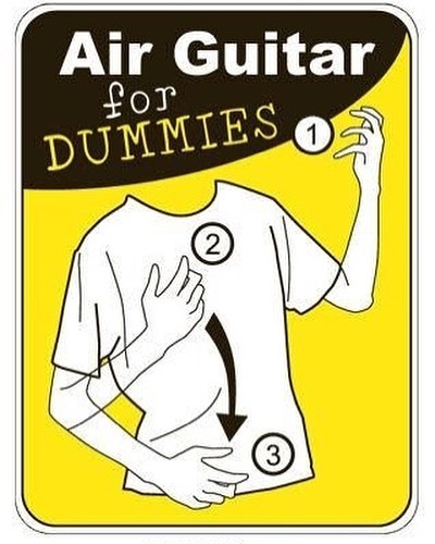 air guitar