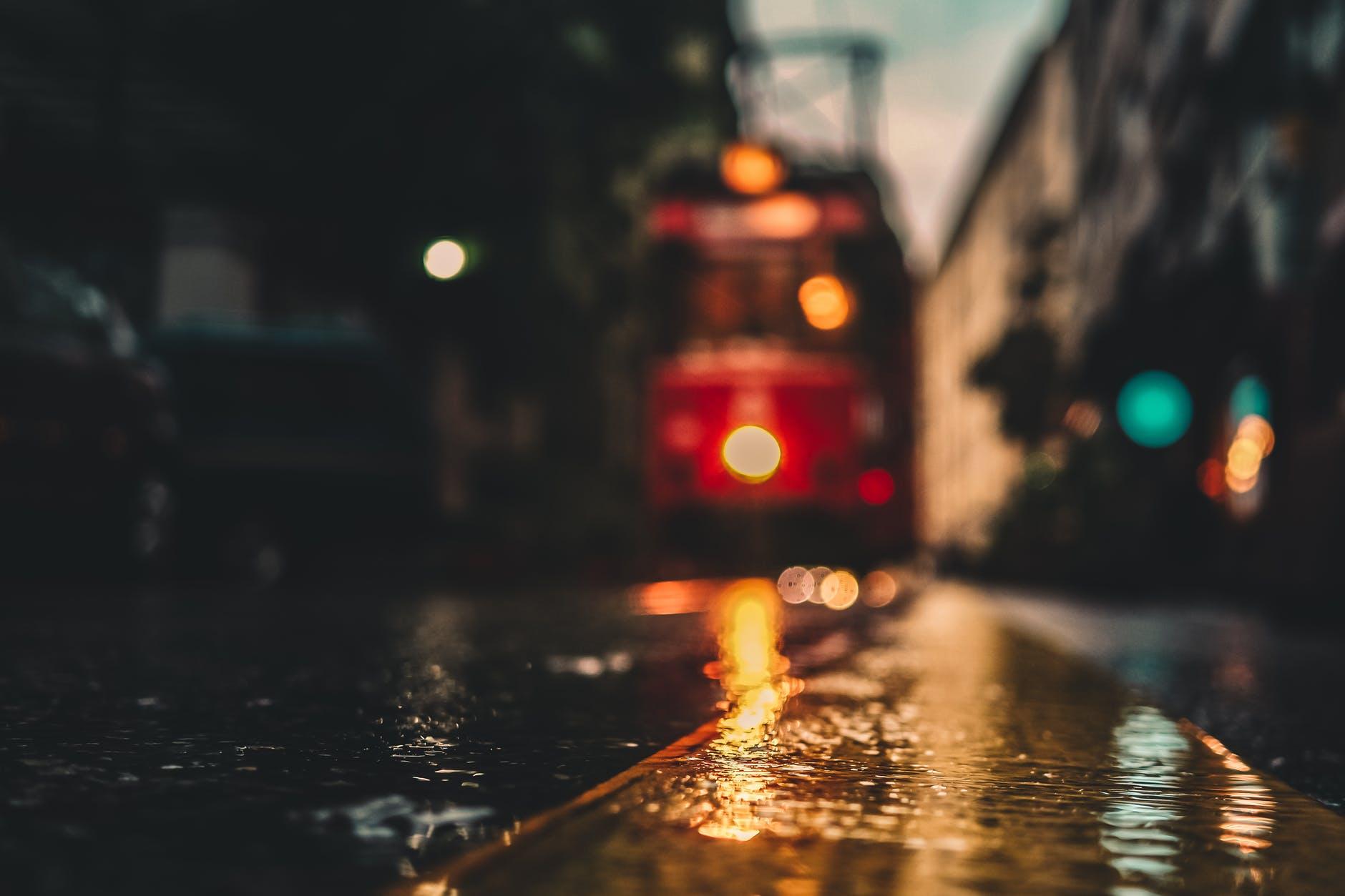 asphalt blur blurred blurry