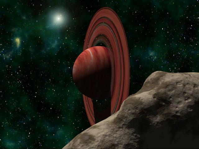 A Saturn-like World