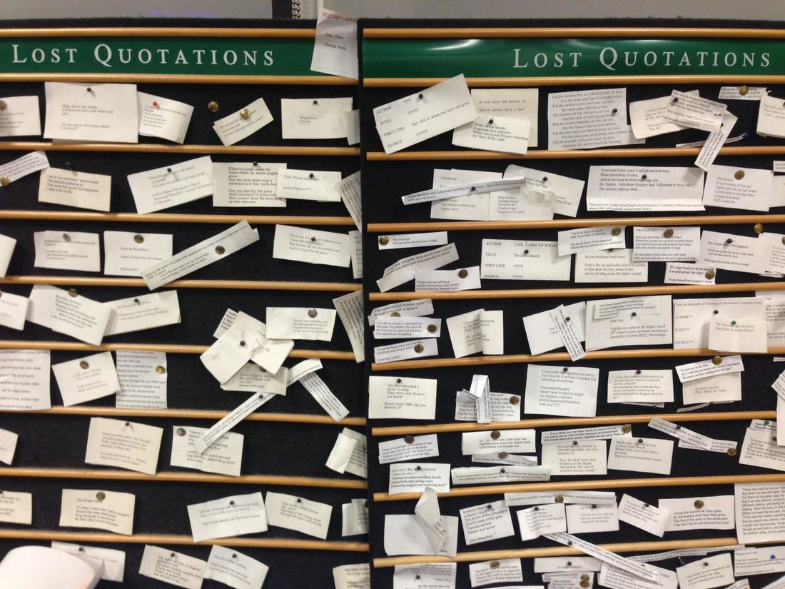 lost quotations