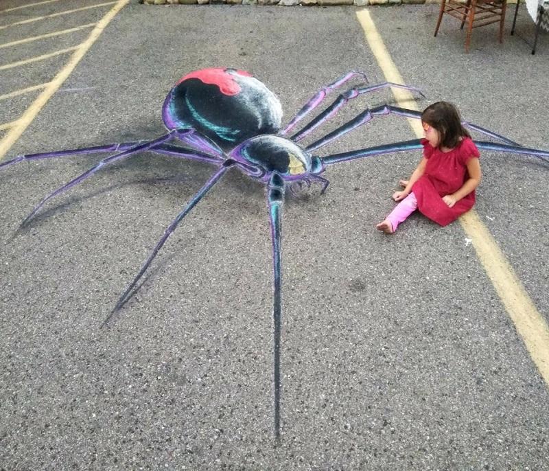 chalk spider