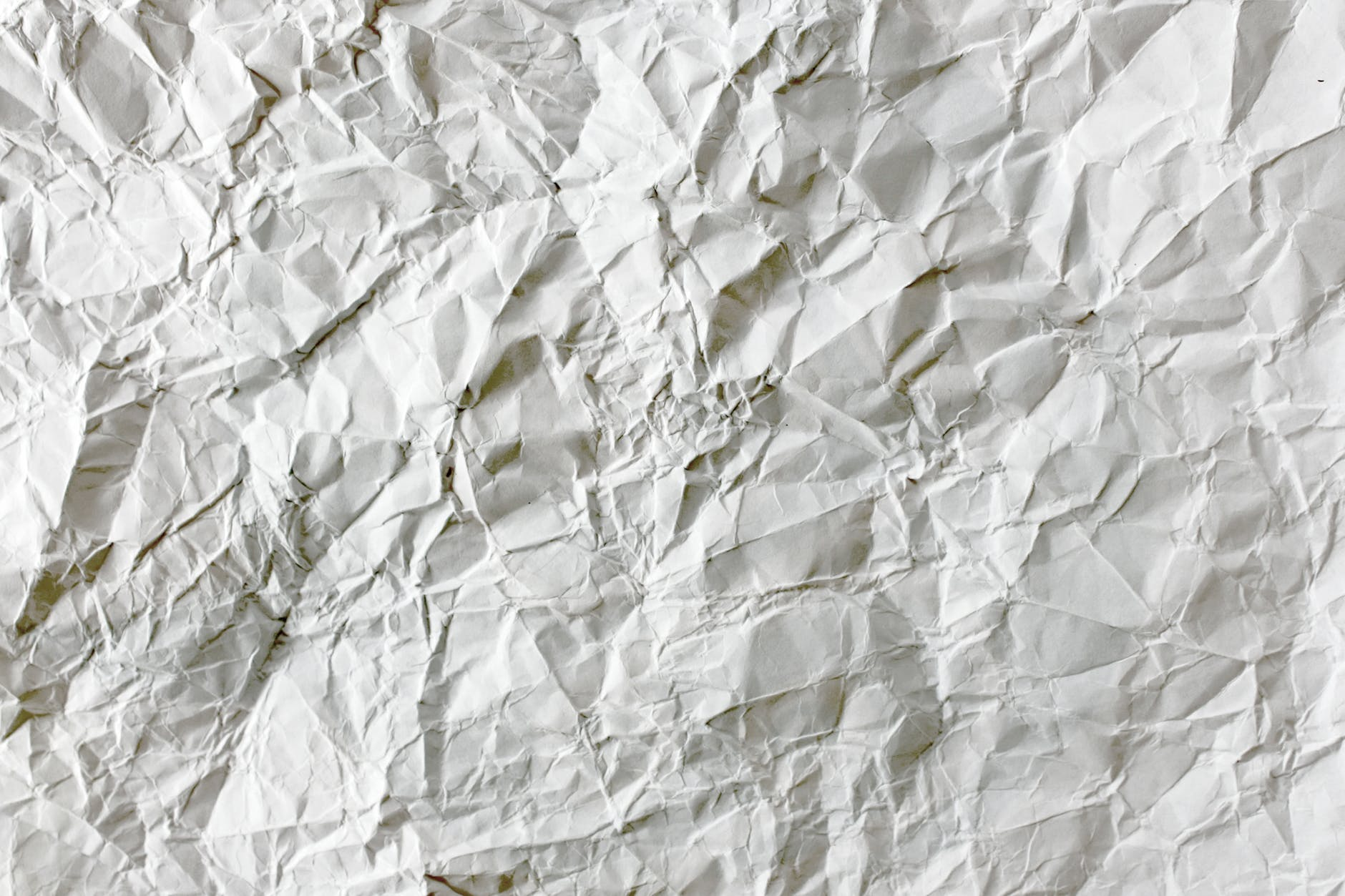 blank close up crumpled crumpled paper