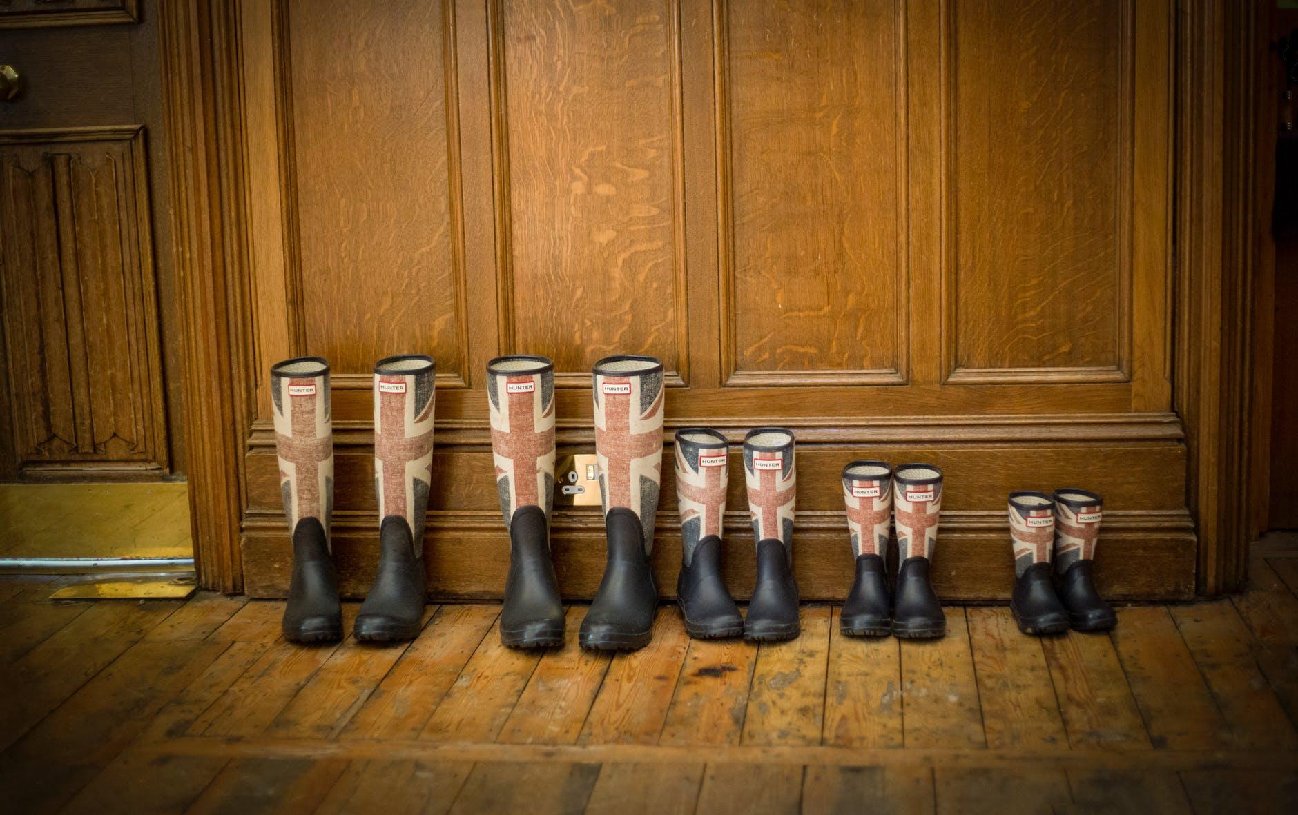 boots footwear indoors parquet