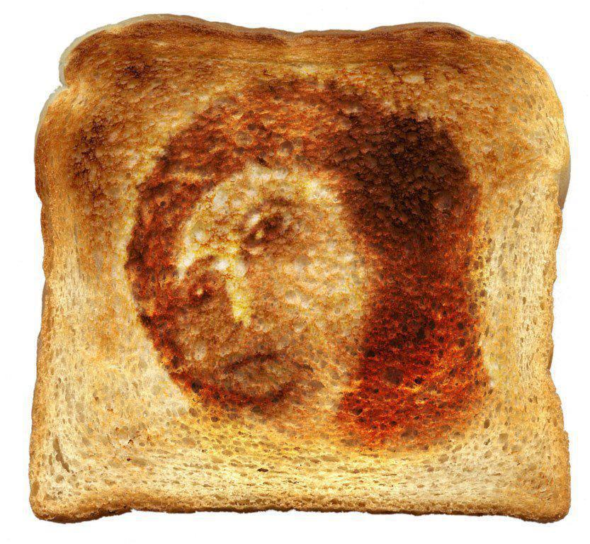 jesus is toast