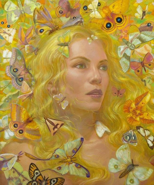 butterfly girl